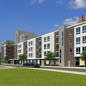 JOINT VENTURE PLANS $26 MILLION APARTMENT COMPLEX IN ALLSTON, MASS.